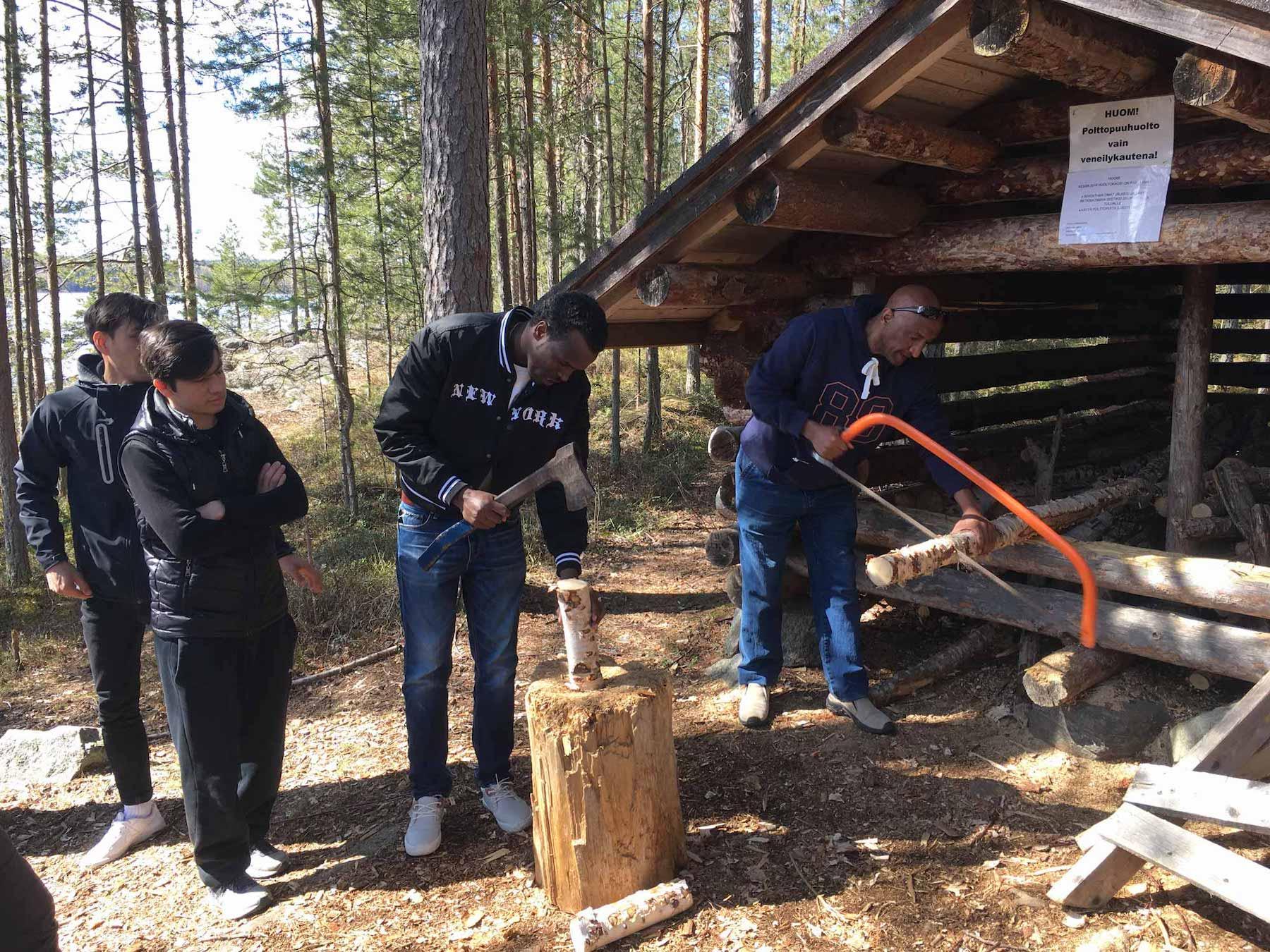 Kuvituskuva artikkelille 'Savonlinna: Luontoa ja yhdessä tekemistä maahanmuuttajille'